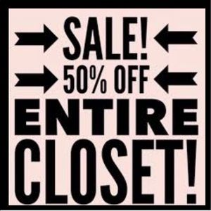 💋PLEASE SHARE THIS 💋 TAKE 50% OFF ALL PRICES
